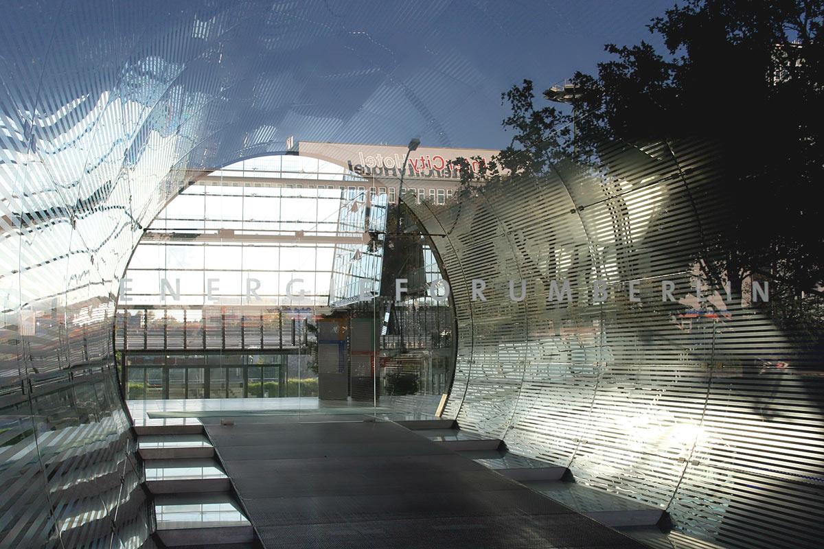 Eingang Energieforum Berlin