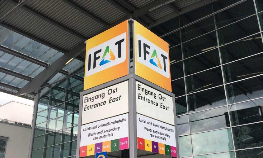Banner IFAT Messe München 2018