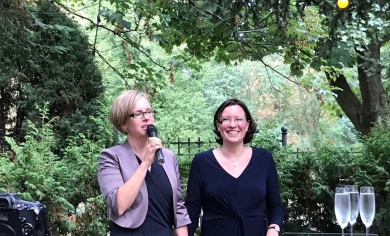 Kristina Lange und Katharina Krause von TL Translationes