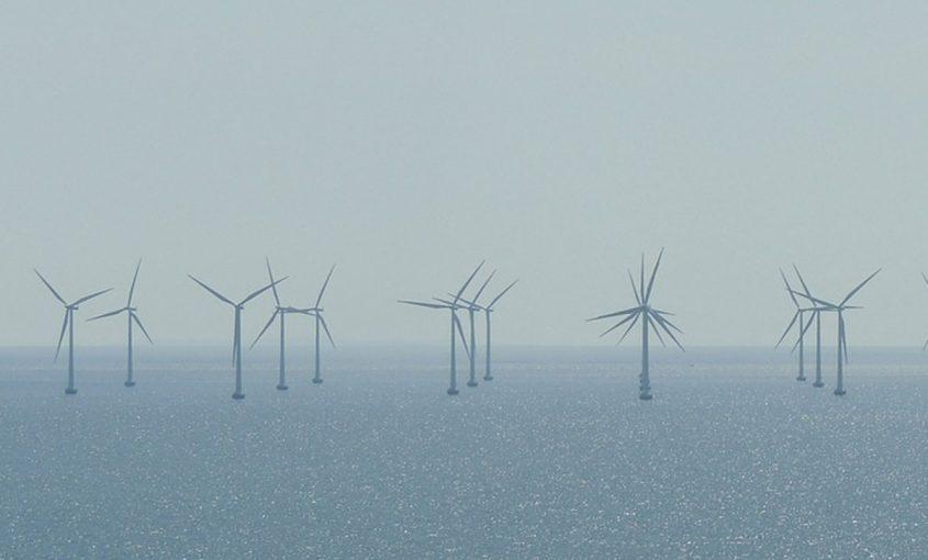 Windräder offshore